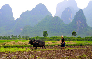 One Day Cycling Tour of Yangshuo-Aishan-Puyi-Yangshuo