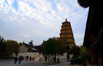 Underground Palace of Big Wild Goose Pagoda