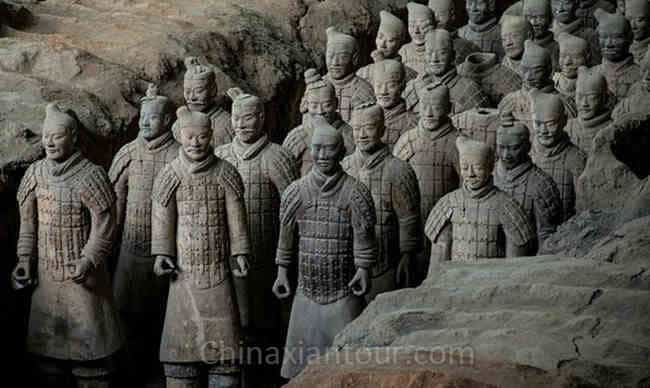 what was special about the terracotta warriors