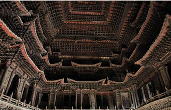 Ming Dynasty Building in Huxian County