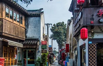 Suzhou Day Tour to Zhouzhuang Ancient Town and Pingjiang Road