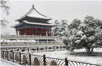 Nice Places to Appreciate Snow Scenery in Xian