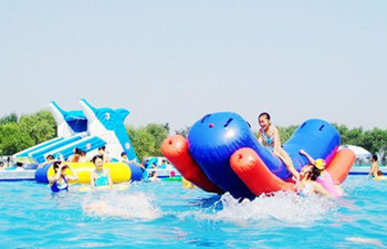Going to Water Park to Escape from Burning Summer Days