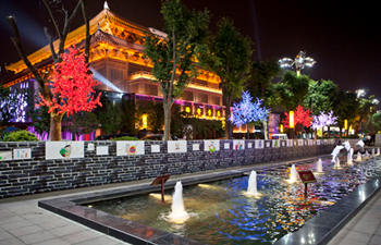Xian Night View and Hot Pot Tour