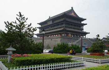 Xian Bell Tower Square and Music Fountain Show Tour