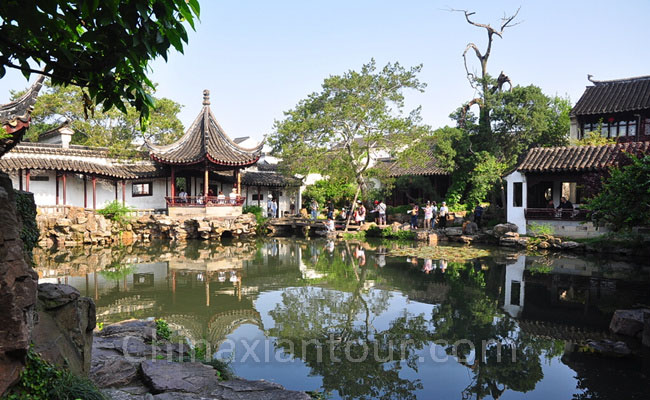 1 Day Shanghai-Suzhou-Zhouzhuang Group Tour