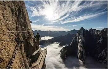 Different Ways to Explore Mt. Huashan
