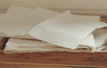 Hand-made Paper in Zhangbei Village