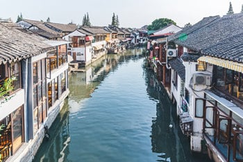 Seven Treasure Town & Zhujiajiao Water Town Group Tour
