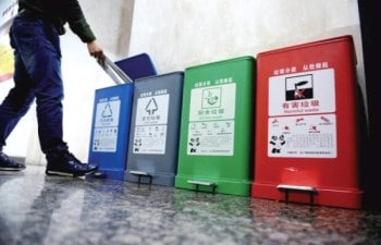 Days of Garbage Classification in Xian Is Counting Down