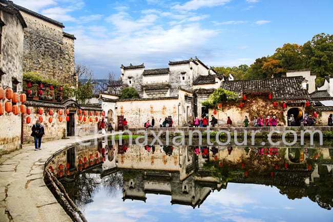 Half Day Hongcun Village Bus Tour