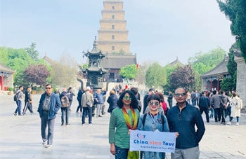 Xian Terracotta Warriors and Big Wild Goose Pagoda Day Tour with Airport/Train Station Transfer