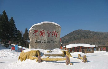 China Snow Town