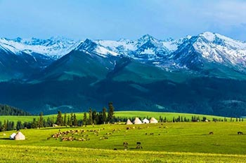 4 Days Urumqi Tour with Heavenly Lake and Nanshan Pasture