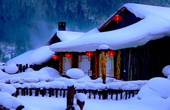 Best 2 Days China Snow Town Private Tour from Harbin