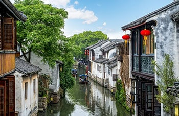 5 Days Suzhou Huangshan Tour with Water Town and Local Villages