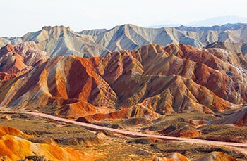 3 Days Zhangye Danxia Landform Tour from Lanzhou