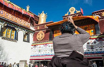 6 Days Lhasa-Yamdroktso -Tzedang Sightseeing Tour Including Local Tibetan Family Visit