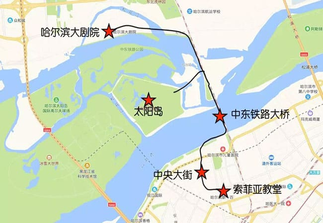 Harbin Tourism: Four Classic City Walk Routes