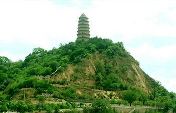 Could you tell us when was the Pagoda built on the Pagoda Hill and how to access it?