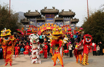 Temple Fair during 2016 Spring Festival in Beijing