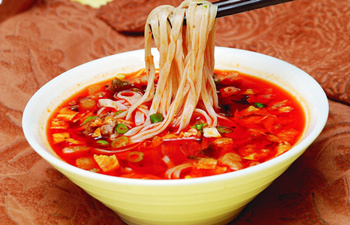 Saozi Noodle Eating Contest in Shaanxi