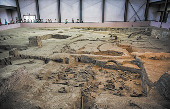 Shaanxi province plans to build the first archaeological museum of China