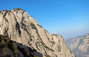 Mt. Huashan Was Selected as One of the Top 10 Must to be Seen Scenic Areas of Winter in China