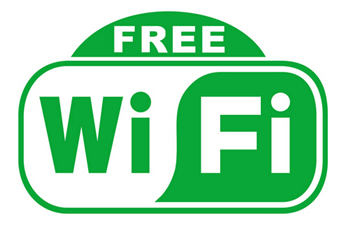 Password-and-Charge Free WIFI in Downtown Xian